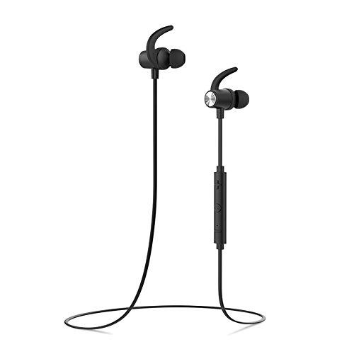 dodocool Auriculares Inalámbricos Cascos Wireless magnéticos y Deportivos, Auriculares Bluetooth 4.1 para Running (Resistentes al Sudor, micrófono, CVC 6.0 Cancelación de Ruido)