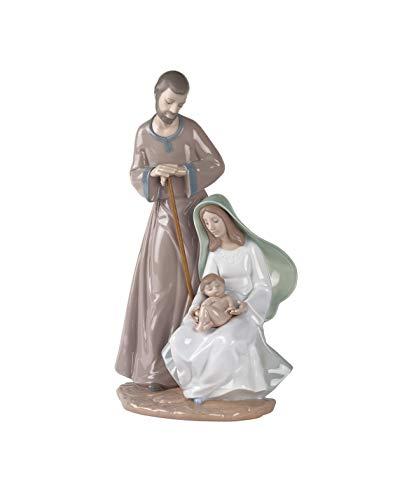 NAO Figura La Sagrada Familia. Nacimiento de Navidad de Porcelana