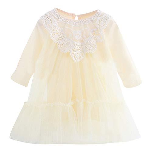 sunnymi 0-3 Jahre Baby Kleid Mädchen Spitze Tüll Tutu Prinzessin Party Kleid Kleidung Outfits