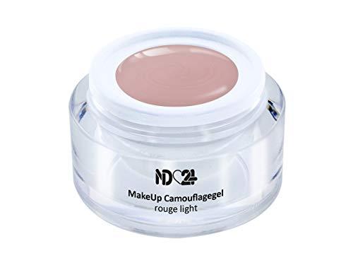 5ml - Make Up CAMOUFLAGE Aufbau - Gel rouge light - nd24 BESTSELLER - BabyBoomer Naildesign UV Gelnägel Nagelgel - Studio Qualität - MADE IN GERMANY