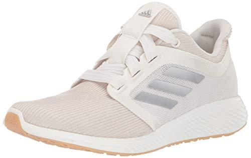 adidas Women's Edge Lux 3 Running Shoe, st Pale Nude/tech Silver Metallic/Cloud White, 12 M US