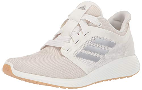 adidas Women's Edge Lux 3 Running Shoe, st Pale Nude/tech Silver Metallic/Cloud White, 12 M US