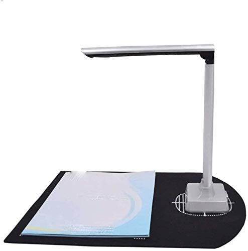 KJRJLQ 10-Megapixel-HD-Datei Dokumenten-Scanner, Klein A4-Scanner, Office Portable Physikalisch Lehr Stand Continuous Scanner