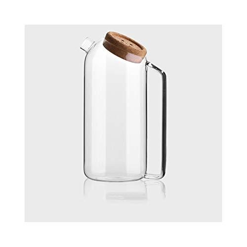 ANXI Theepot Hoge Borosilicaat Glas Pitcher Hittebestendigheid Met Handvat Grote Capaciteit Karaf Voor Hete Of Iced Sangria Theewater Voor Thee