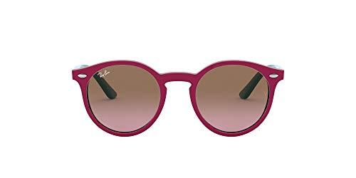 Ray-Ban Junior Unisex-Kinder RJ9064S Brillengestelle, Pink (Fuxia/Violet Gradient Brown), 44