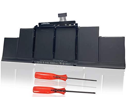 Batteria sostitutiva per portatile A1417 per Apple Macbook Pro 15 pollici Retina A1398 (Medio 2012-inizio 2013), adatta MC975LL / A MC976LL / A ME665LL / A ME664LL / A MD831LL / A