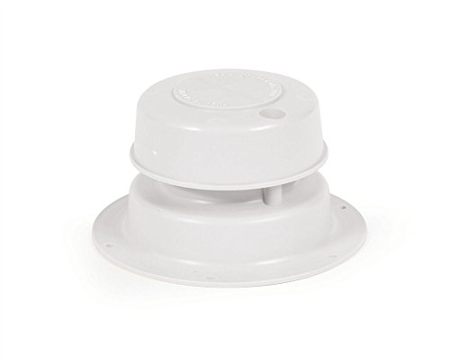 Fits 1' to 2-3/8' O.D. pipe RV Plumbing Sewer Vent Roof Cap w/Removable Top - Bulk - 1pk