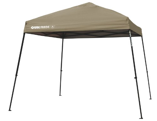 Hot Sale Quik Shade Weekender 81 Instant Canopy (Khaki/Black), 12 Feet X 12 Feet