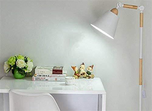 BINGFANG-W Dormitorio Led Creativo de la Sala de Madera sólida del Dormitorio Dormitorio Vertical Eye Study-Cuidado Vertical luz del Piso Lámparas de pie