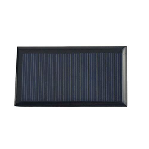 NewIncorrupt Juego de 2 uds, Panel Solar, Cargadores de teléfono Celular de 12V voltios, 12V DC, Mini Kit Solar DIY para Carga de batería Externa de Bus de Coche RV