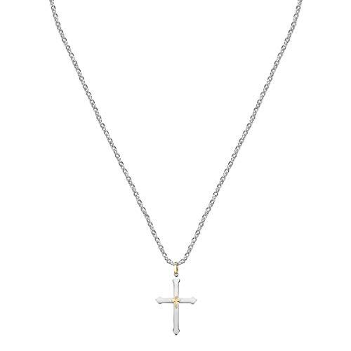 Morellato Collana da uomo, Collezione God, in acciaio, PVD oro rosa - SANF14