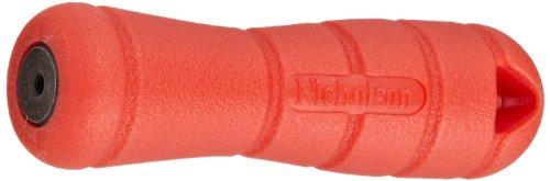 Crescent Nicholson 3-3/4' Screw-on Plastic File Handle PH3 - T21502, Red