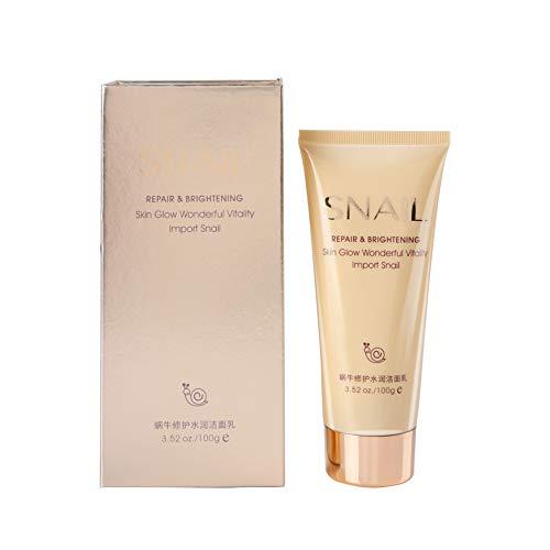 Limpiador facial, Crema limpia hidratante, Ligero portátil 100G Hidratante de viaje para la cara del hogar