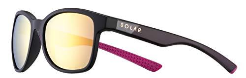 Soledad - Gafas de sol polarizadas para mujer, color negro y rosa