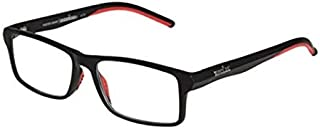 Foster Grant IronMan Reading Glasses, Black/Red (+3.25)