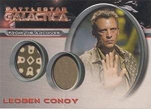 Battlestar Galactica Season 1 DC1 Leoben Conoy Case Topper Costume Card