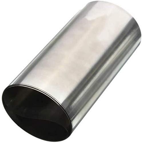 304 Edelstahl Feinblech Folie, Länge: 1000 mm, Breite: 300 mm, Dicke: 0,03 mm bis 0,05 mm