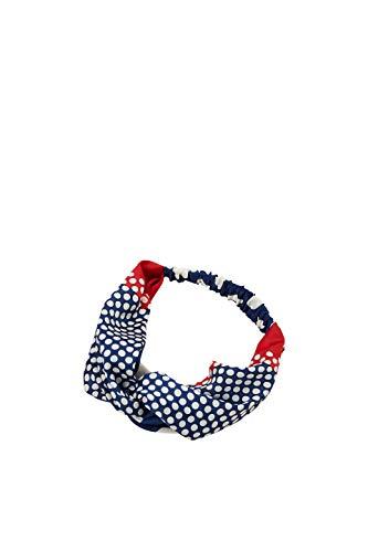 ESPRIT Accessoires Damen 029EA1P002 Stirnband, Blau (Grey Blue 420), One Size (Herstellergröße: 1SIZE)