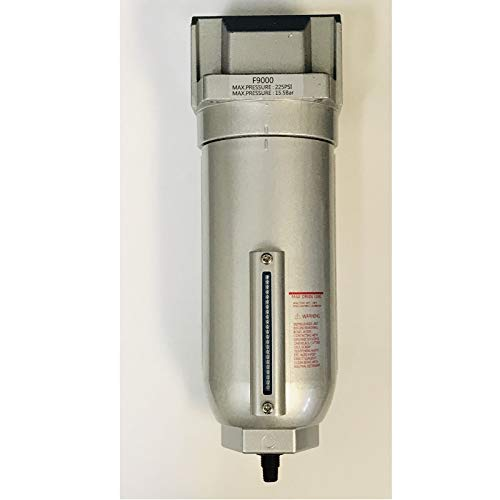 3/4' Inline Air Compressor In Line Water Moisture Filter Trap Separator Auto Drain
