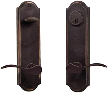 Weslock R7651H1H1SL2D Tramore Right Handed Single Cylinder Entry Set with Carlow Style Levers