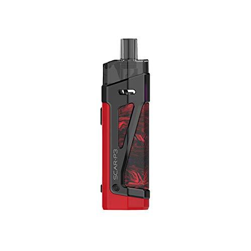 Scar-P3 Kit, SMOK Scar-P3 pod Kit 5.5ml SCAR Partridge RPM 2 Mesh coil 80W Cigarrillo electrónico MOD Vaporizador Construido en 2000 mAh Batería