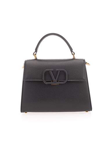 Luxury Fashion | Valentino Garavani Dames TW2B0F53KGWR82 Zwart Leer Handtassen | Lente-zomer 20
