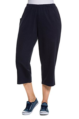 ULLA POPKEN 7/8-Hose, Große Größen Pantaloni, Blu (Blu 71), W (Dimensioni Produttore: 58) Donna