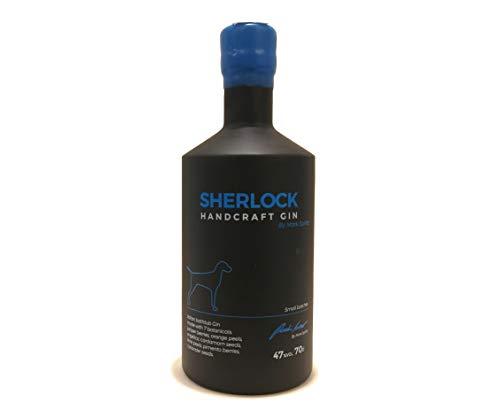 Gin distilleria Brunello, Sherlock handcraft gin by Mark Spirits 47%VOL 70 CL