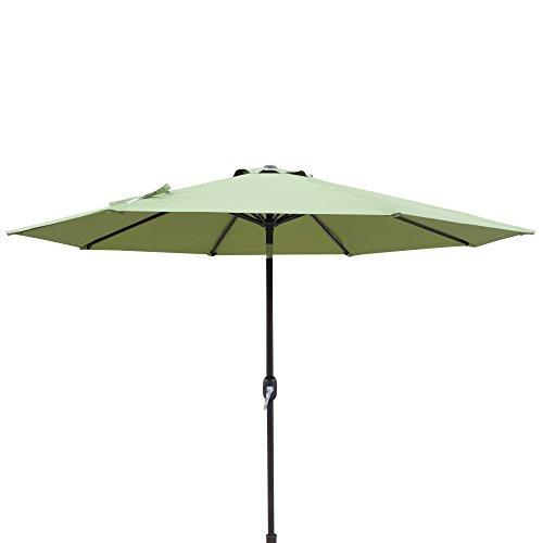 Island Umbrella NU5429CG Trinidad Market Patio Umbrella, Cilantro Green