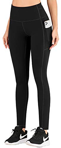 IUGA Leggings with Pockets for Women High Waist Yoga Pants for Women 4 Way Stretch Workout Leggings for Women
