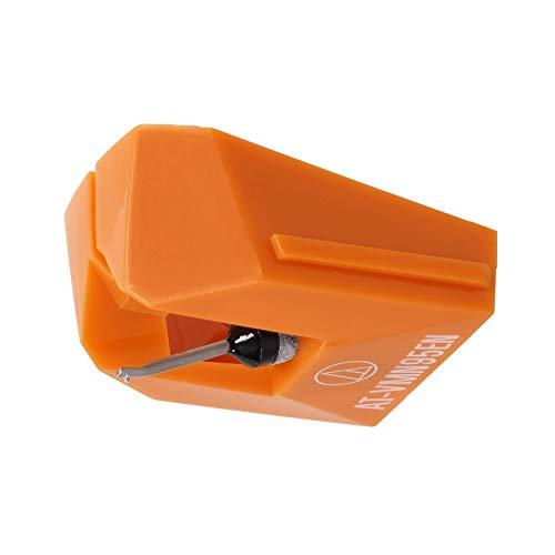 AT-VMN95EN VM型(デュアルムービングマグネット) ステレオカートリッジ オレンジ 交換