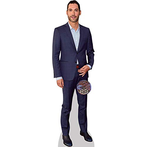 Celebrity Cutouts Tom Ellis (Suit) Pappaufsteller lebensgross