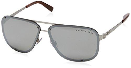 Ralph Lauren 0Rl7055 Gafas de Sol, Brushed Silver, 64 para Hombre