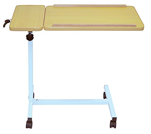 Aidapt Deluxe Overbed Table on Castors. Ideal for Those confined to Bed and can be Used Around The Home.