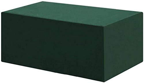 RUXMY Fundas multifunción para Muebles de jardín 115x115x70cm, Juego de Fundas para Muebles de Patio a Prueba de Agua, Fundas para mesas de Patio de Tela Oxford Resistente para Muebles de Patio a