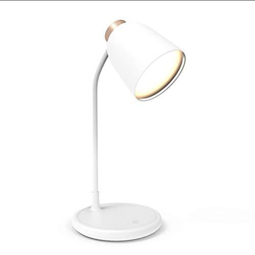 Lámpara de mesa creativa Moderna simple lámpara de mesa plegable LED Desk Protección de los ojos lámpara de lectura del estudiante de la lámpara pantalla de ajuste de carga de plug-in de doble uso for