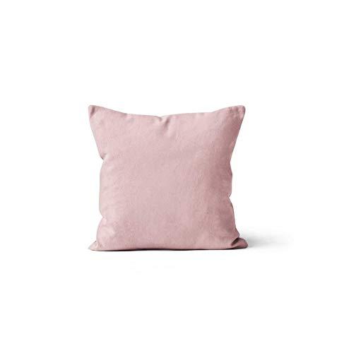 Soleil d'ocre Alix - Funda de cojín (poliéster, 60 x 60 cm), Color Rosa