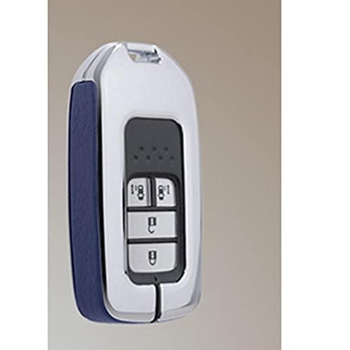 YHDNCG Cubierta de la llave del coche, cubierta protectora de la llave del coche de la aleación de la resistencia de alta temperatura, decoración de la llave del coche, para Honda HRV 2017