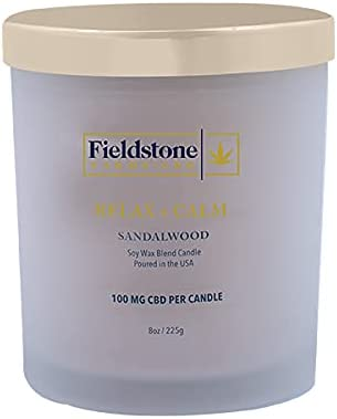 Fieldstone Farms 8 oz Japan Maker New Quality inspection Candle Soy Sandalwood