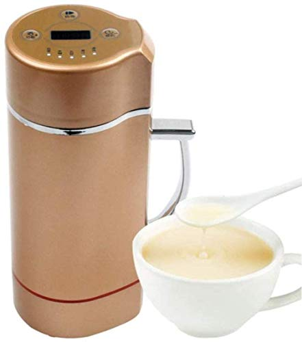 DHTOMC Juicer machines,Juicer Mini Automatic Soymilk Grinding Machine Soya-bean Milk Maker Grinder Beans Grain Blender-white-us Portable Baby Electric Juicer Food 220v,j peng Xping