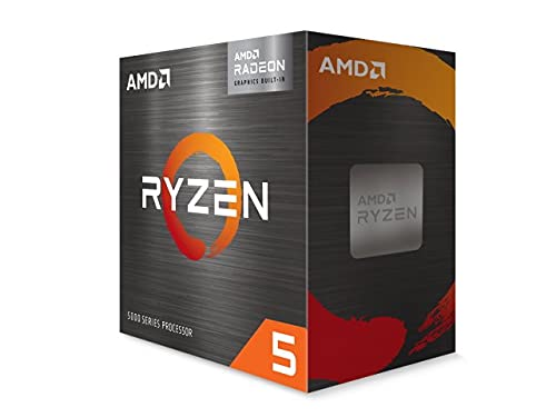 AMD Ryzen 5 5600G with Wraith Stealth cooler 3.9GHz 6コア / 12スレッド 70MB 65W 100-100000252BOX 三年保証 [並行輸入品]