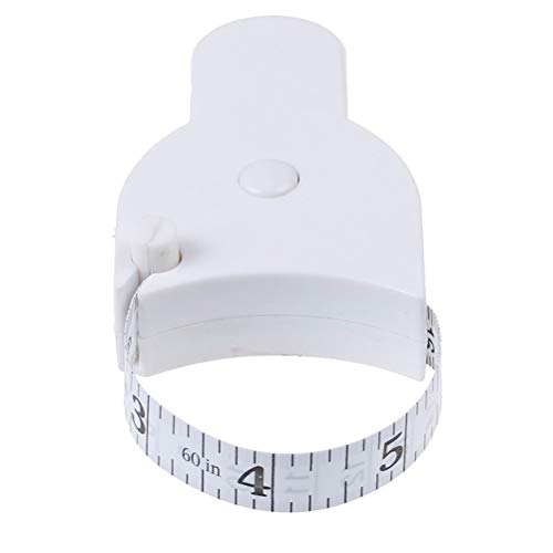 DDLMM 1 UNID 150 CM Regla retráctil de la regla de la grasa de la grasa Medida para la pérdida de peso para la herramienta de la herramienta precisa de la aptitud Herramienta de medición de cinta métr