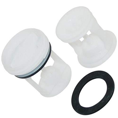 Tapón / filtro de bomba de desagüe para lavadora C00141034, 482000022946 Indesit