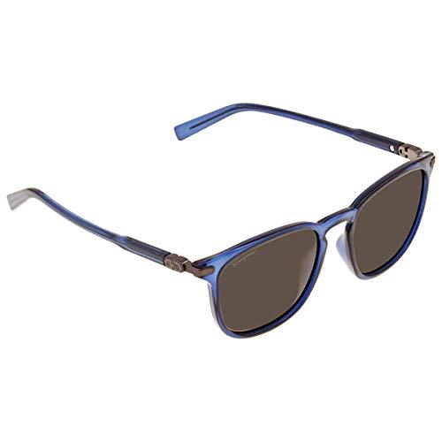 Ferragamo SF881S, Injected-Gafas de Sol Azules Unisex Adulto, Multicolor, Talla única