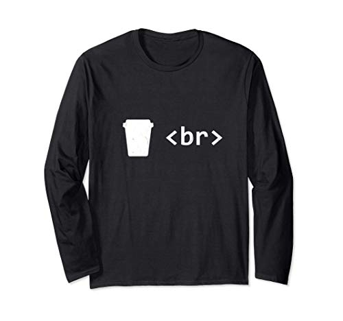 Camiseta Coffee Break para desarrolladores de software Manga