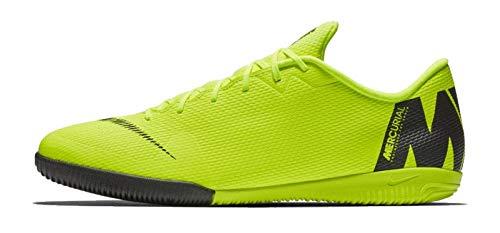Nike Herren Vapor 12 Academy Ic Fußballschuhe,Grau (Wolf Grey/Lt Crimson-Pure Plat 060),47 EU