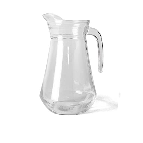 Jarra de cristal 1,3 litros apto para lavavajillas 22 x 16 x 13 cm