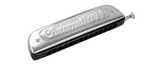 ARMONICA CROMATICA - Hohner (257/56) Chrometta 14 (Nota Do) (56 Voces con Cambio)