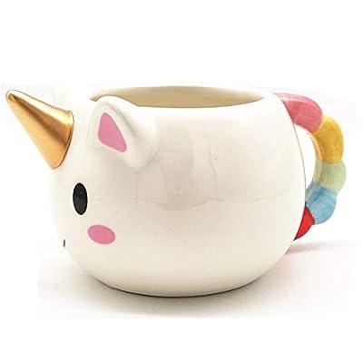 HUISHENG Taza Unicornio, Unicorn Mug, Taza de Ceramica, Navidad Cumpleaños Boda Aniversario Regalo