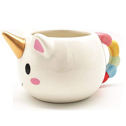 VANUODA Taza Unicornio, Unicorn Mug, Taza de Ceramica, Cumpleaños Boda Aniversario